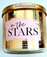 BATH & BODY WORKS IN THE STARS CANDLE 3 WICK LG 14.5 OZ 2018 EDT
