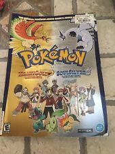 Pokemon HeartGold & SoulSilver Book Official Pokemon Pokedex diamond pearl guide