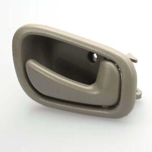 RH Beige Right Interior Inner Door Handle for Toyota Corolla Geo Prizm 98-02