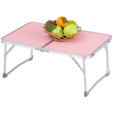 Portable Folding Table Bed Sofa Car Tray Stand Laptop Notebook Desk Pink