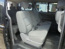 HYUNDAI I800 2010 SET OF 2ND AND 3RD ROW TEXTILE MATERIAL SEATS