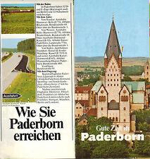 Dressler, buoni tempo in Paderborn image-opuscolo Paderborner trasporti Club 1979