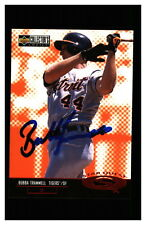 Bubba Trammell Autograph Signed 1998 UD Collectors Choice Starquest Tigers