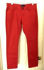 Miley Cyrus Max Azria Color Jeans-13, light red