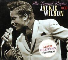 JACKIE WILSON: THE LEGEND BEGINS..3 CD BOX SET .. CLASSIC ALBUM COLLECTION