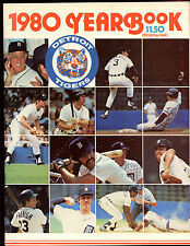 1980 Detroit Tigers Yearbook EXMT
