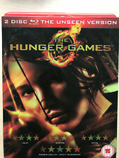 Hunger Games 2012 Original Dystopian Sci-Fi Classic UK Blu-ray w/ Slipcover