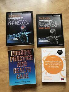 Bundle Of Nursing Medical Books - Tortora's Principles Of Anatomy & Physiology