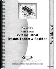 White 2-63 Tractor Loader Backhoe TLB Parts Manual Catalog