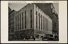 New York City NY ~ New Woolworth Store ~ 5th Ave. & 39th Street ~ Postcard