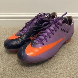 Match Worn Gabriel Agbonlahor Nike Mercurial Vapor Football Boots - Aston Villa