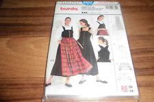 BURDA-PLUS Schnittmuster 8852              DIRNDL+BLUSE+SCHÜRZE            36-50
