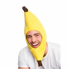 Funny Banana Hat Adults Fancy Dress Accessory Stag Night Party Prop
