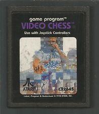 VIDEO CHESS - ATARI 2600 VCS - cartridge only - no box/instr - TESTED