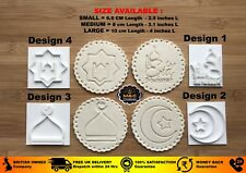Muslim Islamic Embossing for cupcake and cake - stamps sugar paste EID MUBARAK