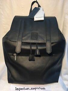 Unisex's Trussardi Zaino Donna Nero Collection Backpack Bag Black