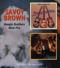 Savoy Brown - Boogie Brothers / Wire Fire [New CD]