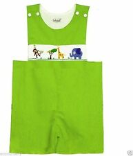 Embroidered Dungarees (0-24 Months) for Boys