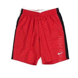 Nike Woven Venom II Short Men's M Red Soccer World Cup Black 894336