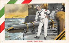 C2155) WW1 MARINA, LANCIA SILURO.