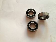 10pcs 12x21x5mm Rubber Sealed Ball Bearing Miniature Bearing 6801-2RS