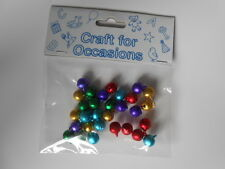 PACK 25 MIXED BELL EMBELLISHMENTS  FOR CARDS AND CRAFTS