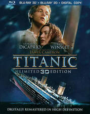 Titanic (Blu-ray Disc, 2012, 4-Disc Set, Includes Digital Copy 3D)