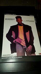 Special Ed Legal Rare Original Promo Poster Ad Framed!