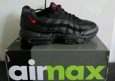 NEW with box, Nike air max 95 OG, Black with  Red swoosh UK size ,8,9,10,