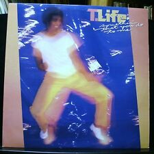 VINYL RECORD ALBUM SOUL FUNK LP T. LIFE SOMETHIN' THAT YOU DO TO ME