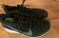 NIKE ZOOM FLY FK FLYKNIT Size 8.5 Men's BLACK, GREY, WHITE RUNNING SHOES