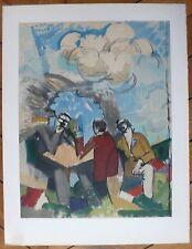 Roger de la Fresnaye Lithographie sur velin d'Arches Mourlot Paris Cubisme