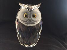 Swarovski Crystal Giant Owl Figurine