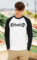 ENTOMBED Men Women Long Sleeve T-Shirt Death Metal Band Unisex Raglan Top Shirt