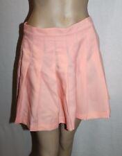 CHEEP Designer Light Pink Pleated Skater Skirt Size M BNWT #SS68