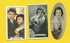 Janet Gaynor with Warner Baxter Fab Card Collection Actress