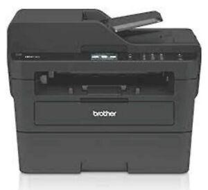 Brother MFC-L2730DW Impresora Multifunción - Negra SOLO 791 PAGINAS IMPRESAS