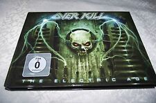 """OVERKILL """"THE ELECTRIC AGE"""" DIGI-MEDIABOOK CD+DVD A5 SIZE NUCLEAR BLAST 1ST PRES"""