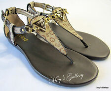 GUESS  Thongs  Flip Flop Slppers Sandals Shoes Flops open Toe shoe T strap  7.5