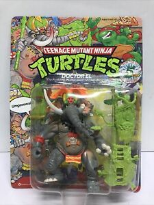 Teenage Mutant Ninja Turtles TMNT Ninja DR Doctor El 1992 New Unpunched