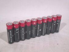 10x Military AA Battery LR6 1.5V Industrial Varta Exp 2022! NATO Army Batteries