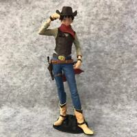 20CM One Piece Cowboy costumes Monkey·D·Luffy Action Figures PVC Toy New in Box