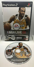 NBA Live 08 - Basketball - Case & Disc - Good Cond. - Tested - Playstation 2 PS2