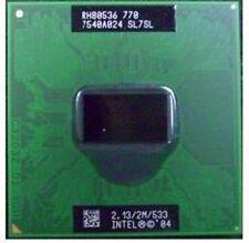 10 pcs Intel Pentium M 770 SL7SL 533MHZ 2.13/GHz 2MB CPU Prozessoren