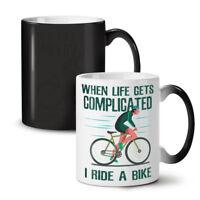 Complicated Life NEW Colour Changing Tea Coffee Mug 11 oz | Wellcoda