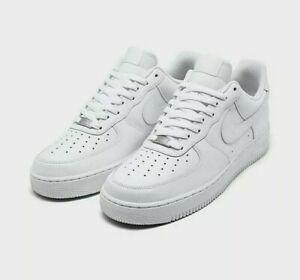 Nike Air Force 1' 07 Herrenschuhe Turnschuhe Herren Leder Sneakers 315122 111