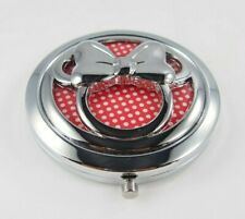Torrid Disney Minnie Mouse Silver Red White Polka Dot Dual Sided Compact Mirror