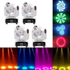 4PCS 30W RGBW Stage Light LED Spot Moving Head Light DMX Disco DJ Party Lighting