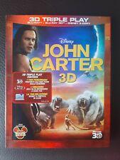 JOHN CARTER DISNEY BLU RAY 3D+2D