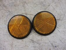 1974 Kawasaki KZ400 KZ 400 K426-3' reflector set pair